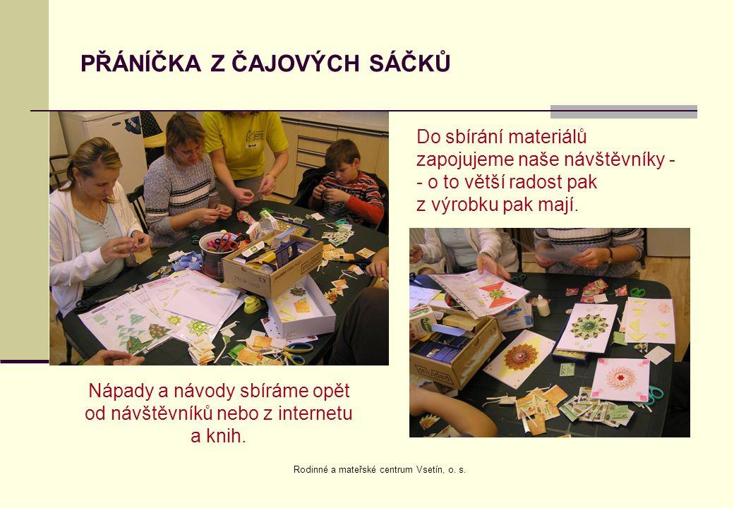 VALÁŠEK - CVIČENÍ RODIČŮ S DĚTMI Cvičení s novinami, ruličkami od toaletního, papíru, kelímky od jogurtů… pohádky s ekologickou tématikou.
