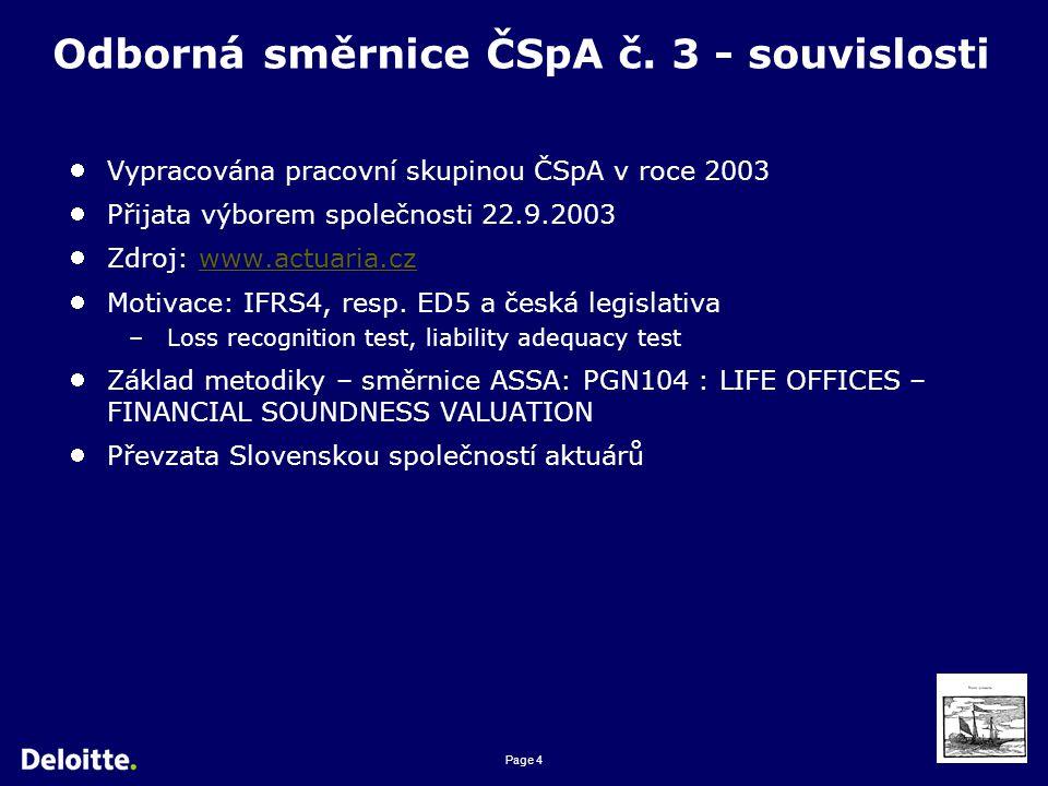Page 4 Odborná směrnice ČSpA č.
