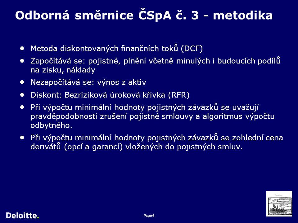 Page 6 Odborná směrnice ČSpA č.