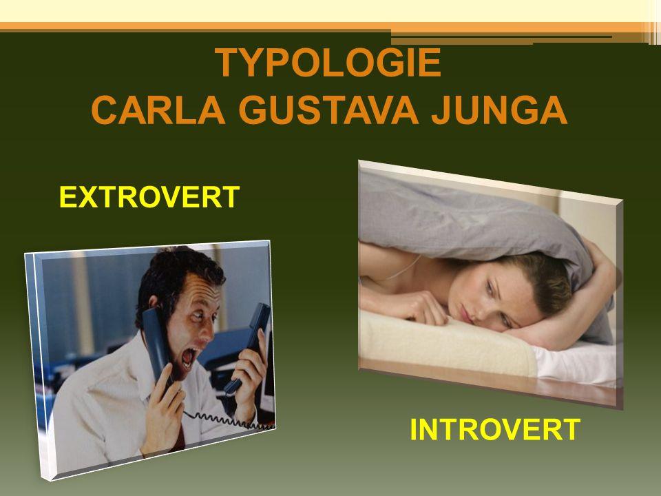TYPOLOGIE CARLA GUSTAVA JUNGA EXTROVERT INTROVERT