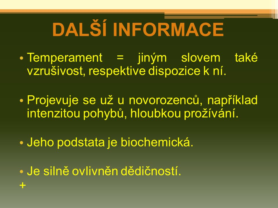 TYPOLOGIE ERNSTA KRETSCHMERA KONSTITUČNÍ TYPOLOGIE (PODLE TYPU POSTAVY) (názvy v závorce podle Sheldona):  PYKNIK (ENDOMORF)  ASTENIK (EKTOMORF)  ATLETIK (MEZOMORF)