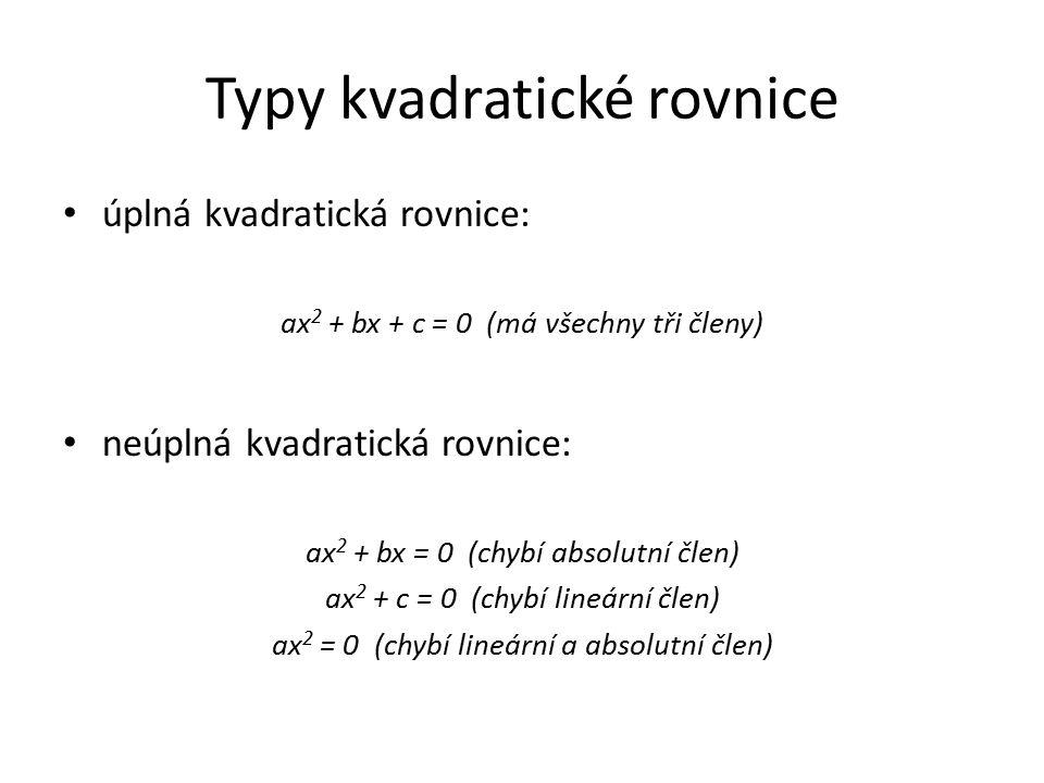Příklady na procvičení př.1: 4x 2 – 11x = x(4 – x) Řešení př.