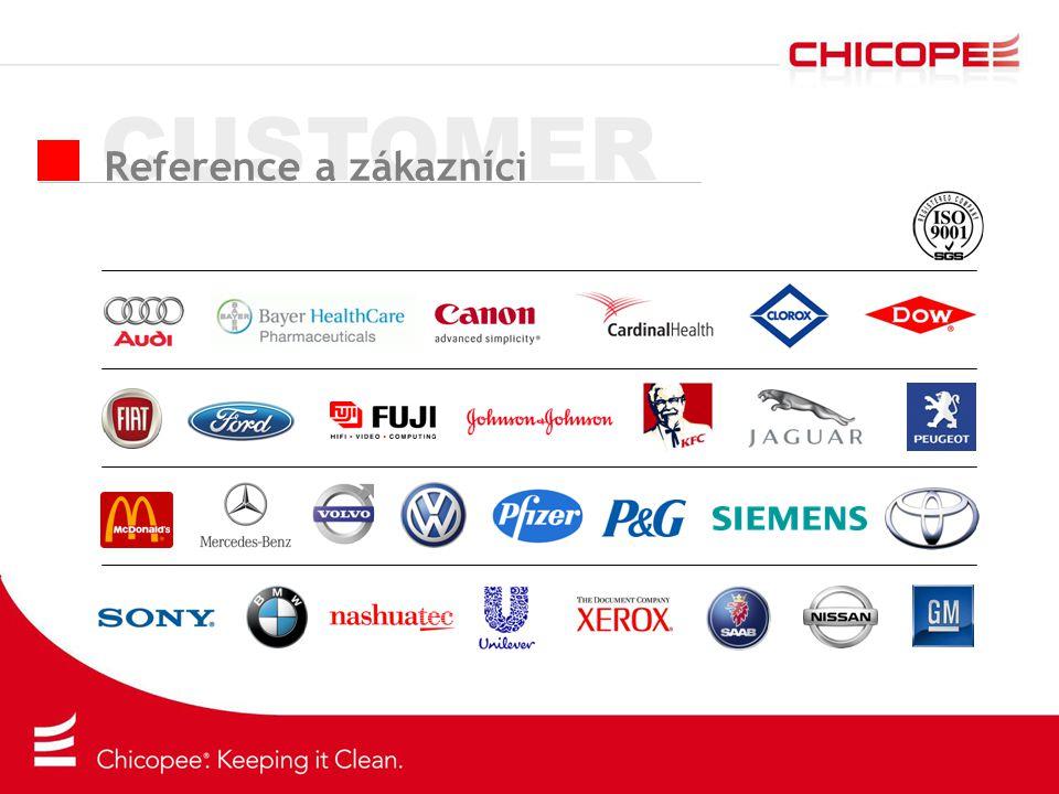 CUSTOMER Reference a zákazníci
