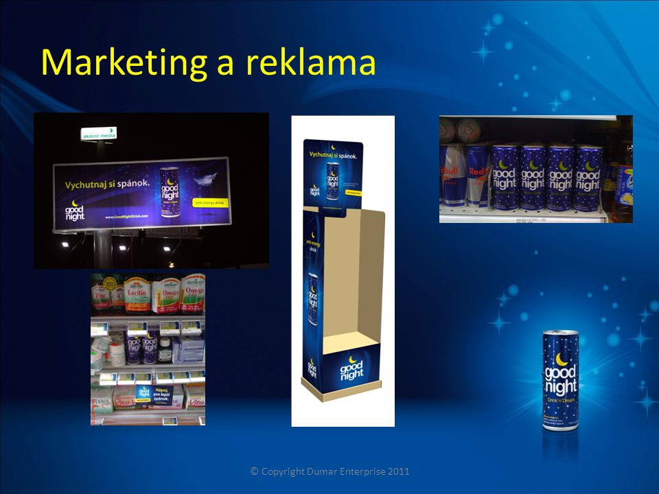 Marketing a reklama © Copyright Dumar Enterprise 2011