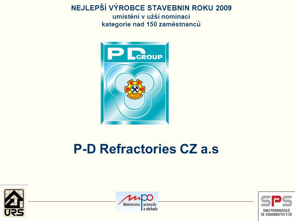 P-D Refractories CZ a.s