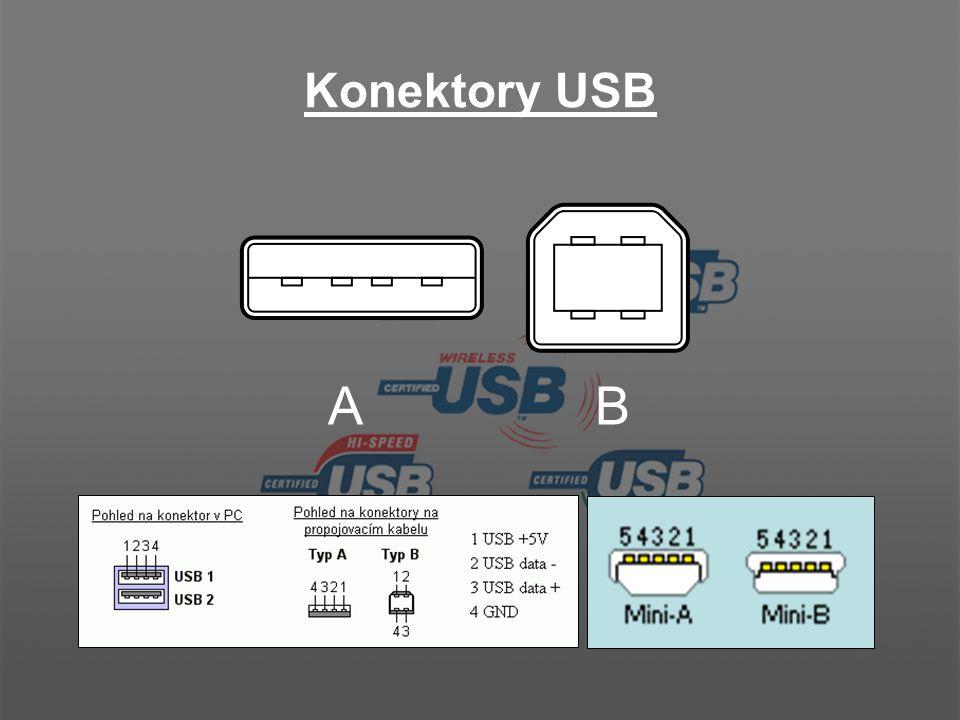 Konektory pro kabely