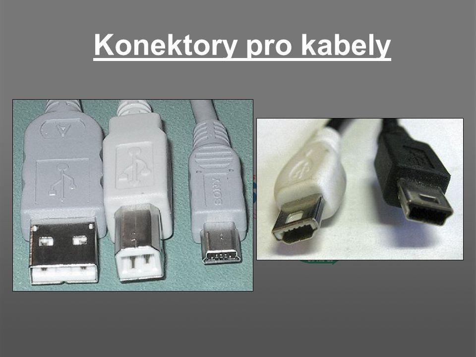 """Kabely Standard-A plug do Standard-B plug Standard-A plug do Mini-B plug Mini-A plug do Standard-B plug Mini-A plug do Mini-B plug Kabely s konektory """"A do """"A nebo """"B do """"B není brán jako USB >>"""