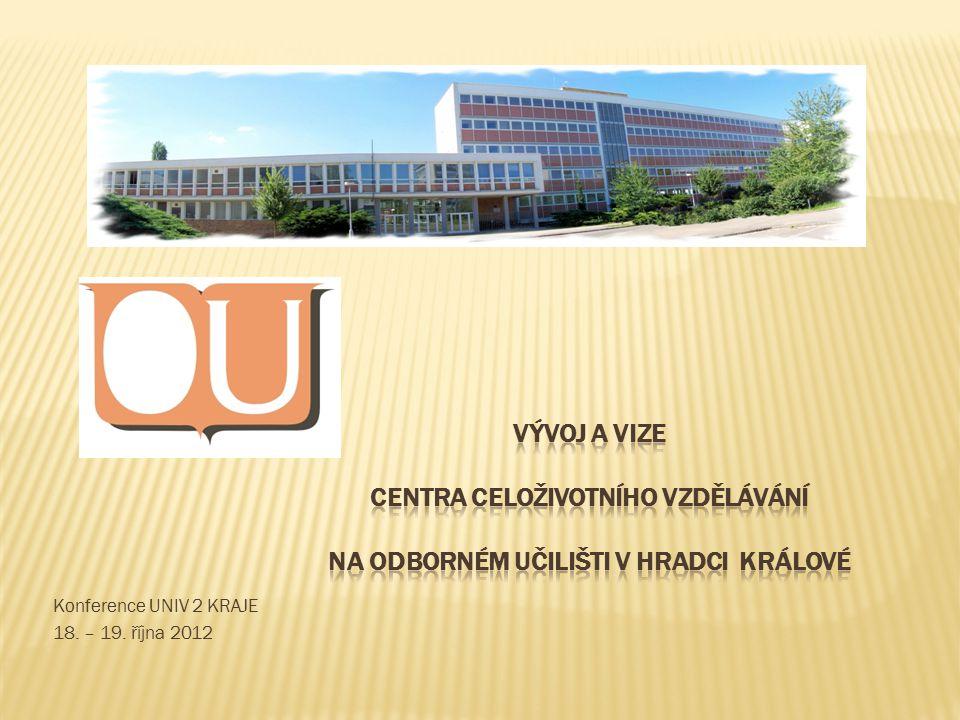 Konference UNIV 2 KRAJE 18. – 19. října 2012