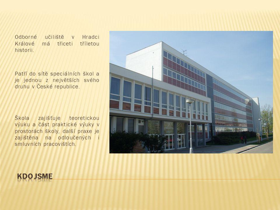 Odborné učiliště v Hradci Králové má třiceti tříletou historii. Patří do sítě speciálních škol a je jednou z největších svého druhu v České republice.