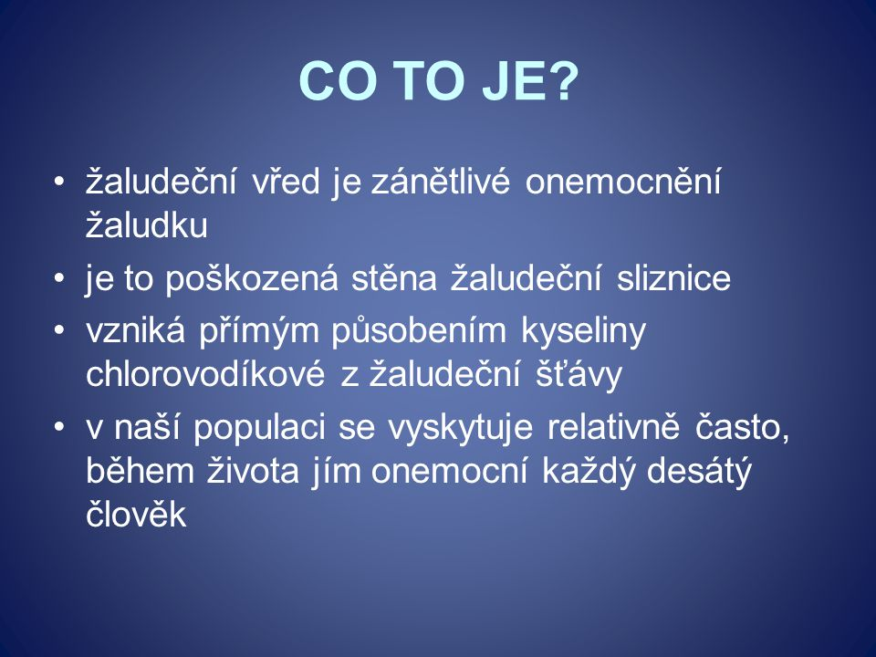 CO TO JE.