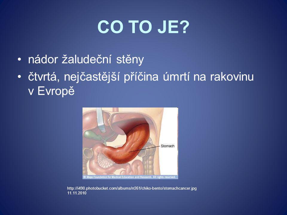 CO TO JE? nádor žaludeční stěny čtvrtá, nejčastější příčina úmrtí na rakovinu v Evropě http://i490.photobucket.com/albums/rr261/chiko-bento/stomachcan