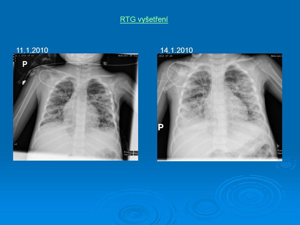 RTG vyšetření 11.1.201014.1.2010
