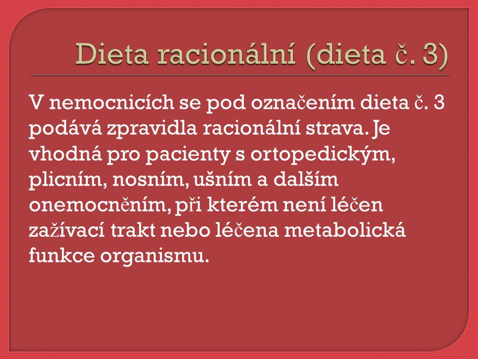Dieta s omezením tuku je plnohodnotná, lehce stravitelná, dlouhodob ě u ž ivatelná, má sní ž ený obsah tuku.