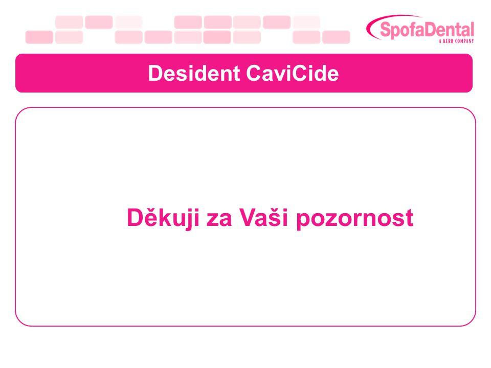 Desident CaviCide Děkuji za Vaši pozornost