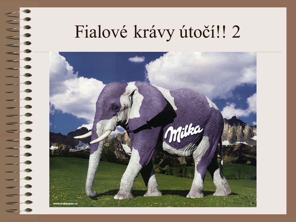Fialové krávy útočí!! 2