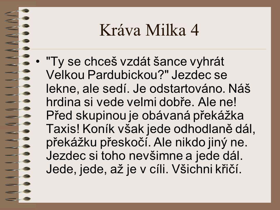 Kráva Milka 4