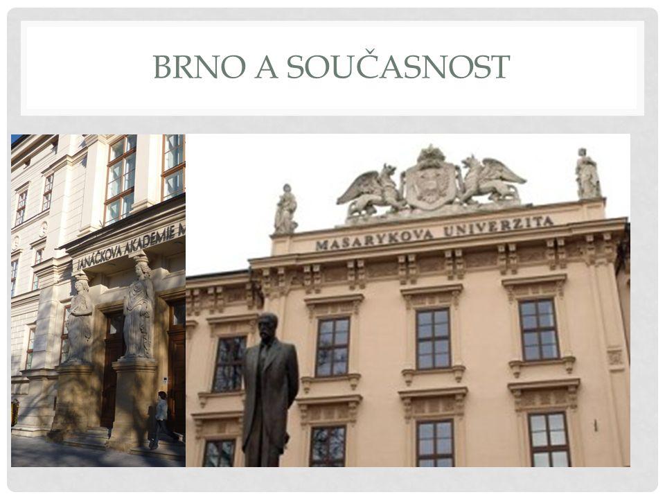 Brno je rozděleno do 29 městských částí.