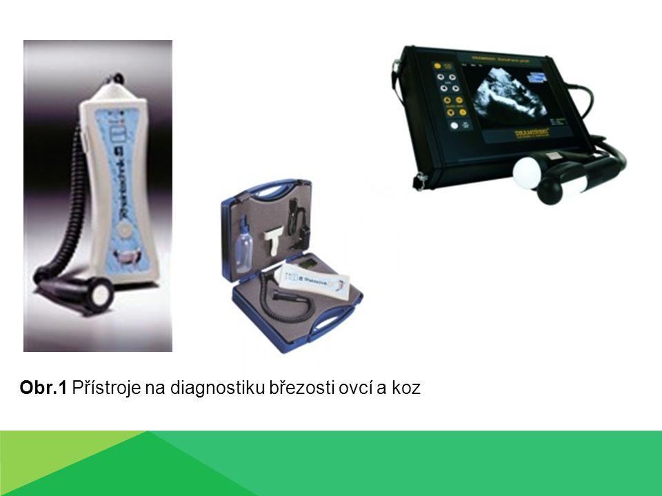 Obr.1 Přístroje na diagnostiku březosti ovcí a koz