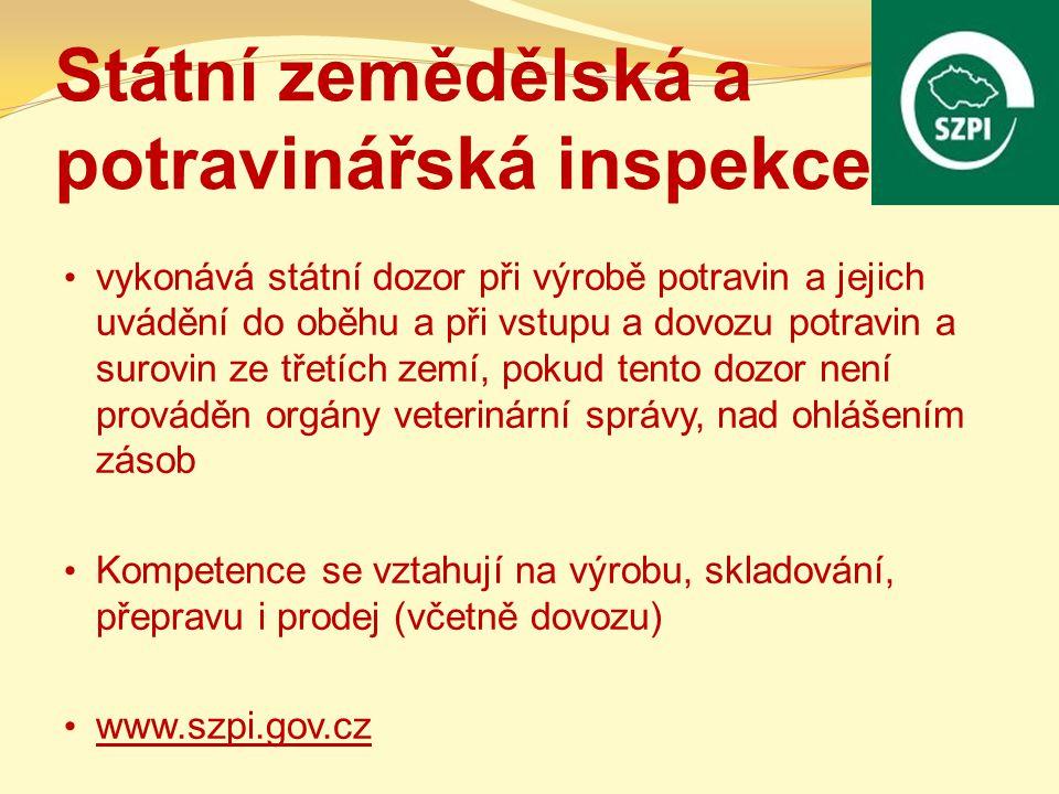 Legislativa Pojetí a realizace kontroly potravin vycházejí z právní úpravy: zákon č.