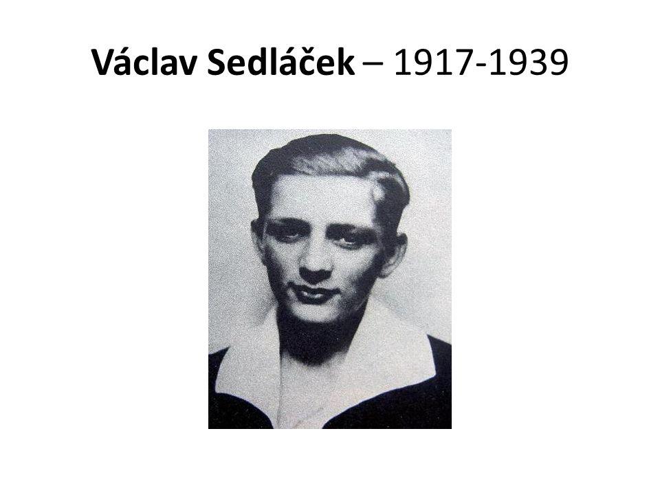 Václav Sedláček – 1917-1939