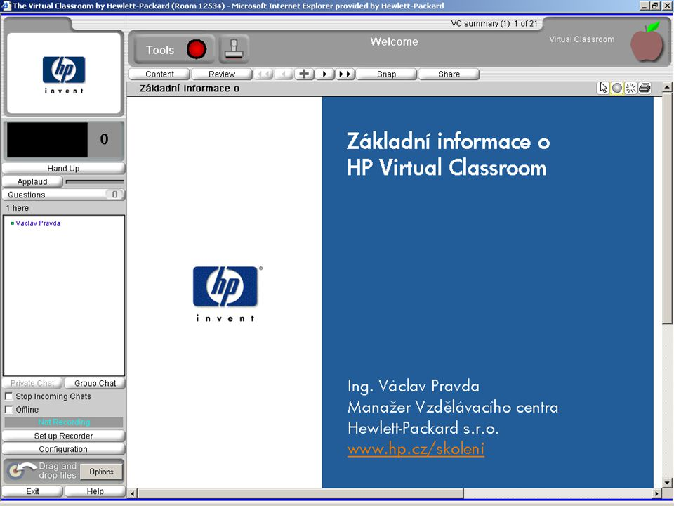 HP Virtual Classroom10