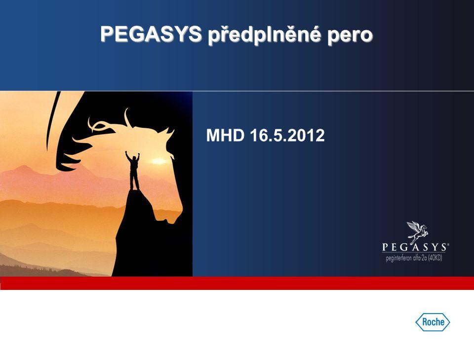 PEGASYS předplněné pero MHD 16.5.2012