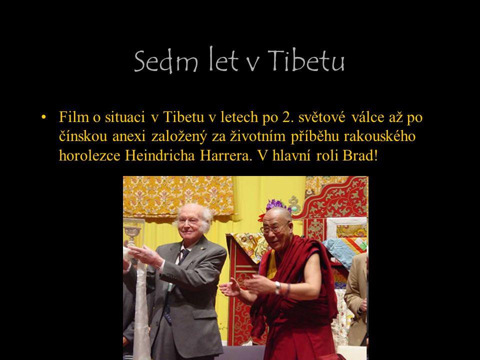 Sedm let v Tibetu Film o situaci v Tibetu v letech po 2. světové válce až po čínskou anexi založený za životním příběhu rakouského horolezce Heindrich