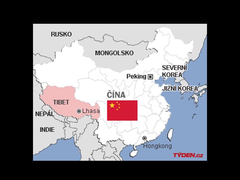 Přírodní podmínky Velmi suché ovzduší – Tibet se nachází ve srážkovém stínu.