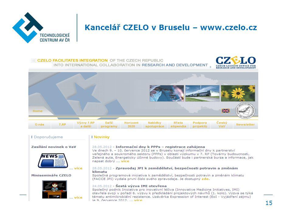 15 Kancelář CZELO v Bruselu – www.czelo.cz