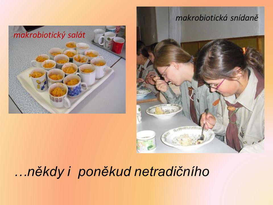 …někdy i poněkud netradičního makrobiotický salát makrobiotická snídaně