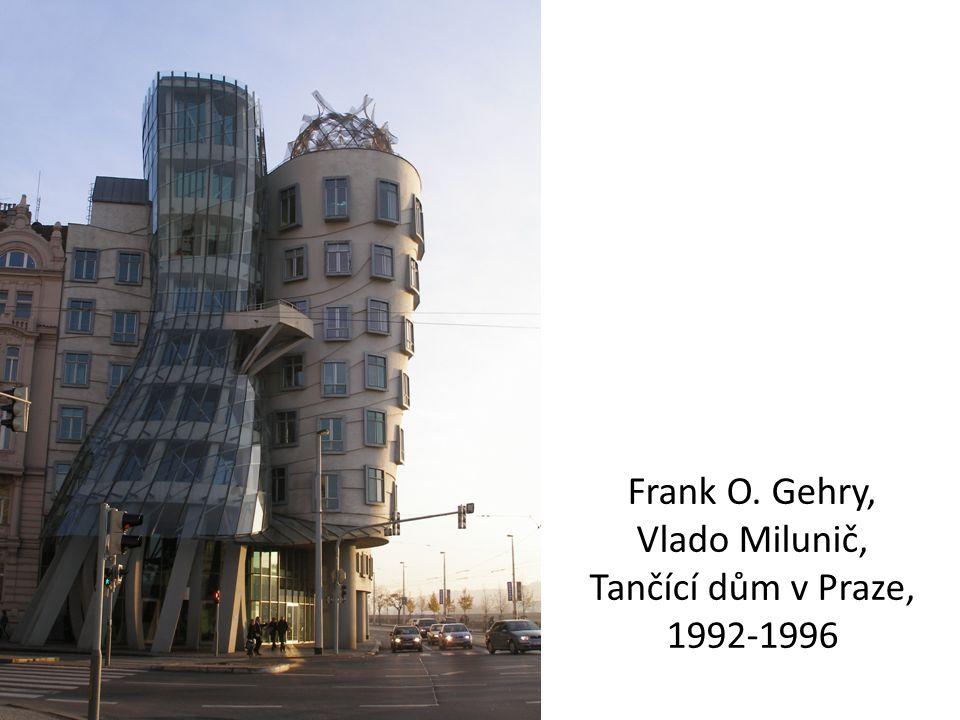Frank O. Gehry, Vlado Milunič, Tančící dům v Praze, 1992-1996