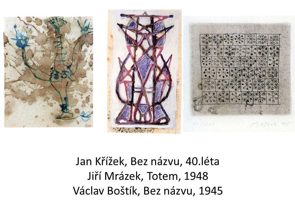 Zdeněk Sýkora, Šedá struktura, 1963 Karel Malich, Černý a bílý reliéf, 1963