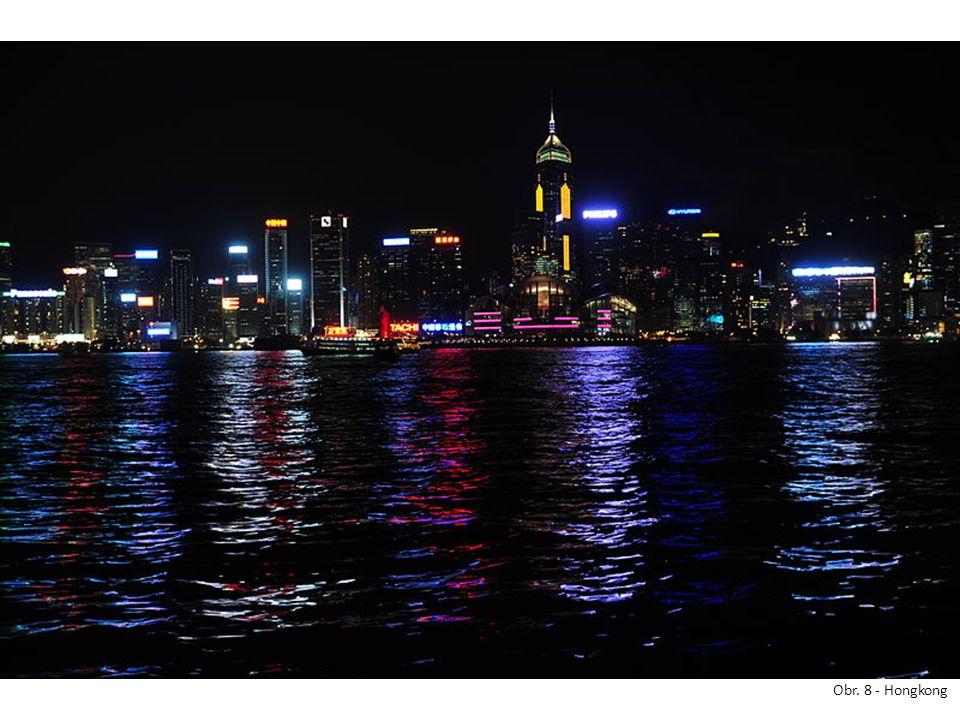 Obr. 8 - Hongkong