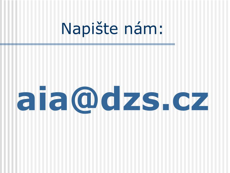 Napište nám: aia@dzs.cz
