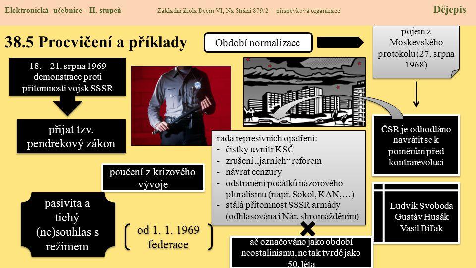 38.5 Procvičení a příklady Elektronická učebnice - II.