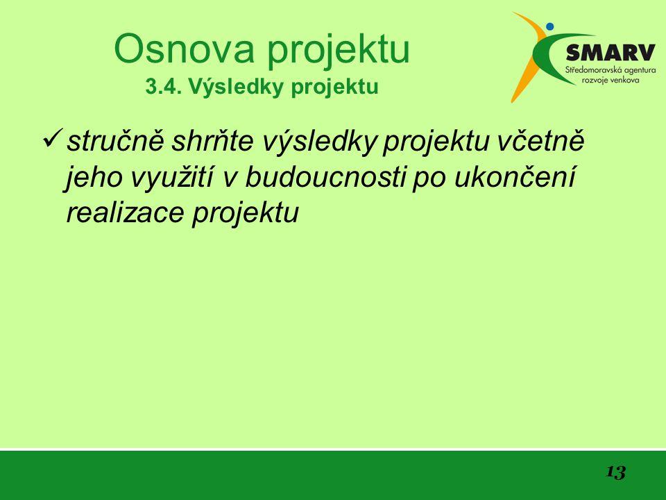 13 Osnova projektu 3.4.