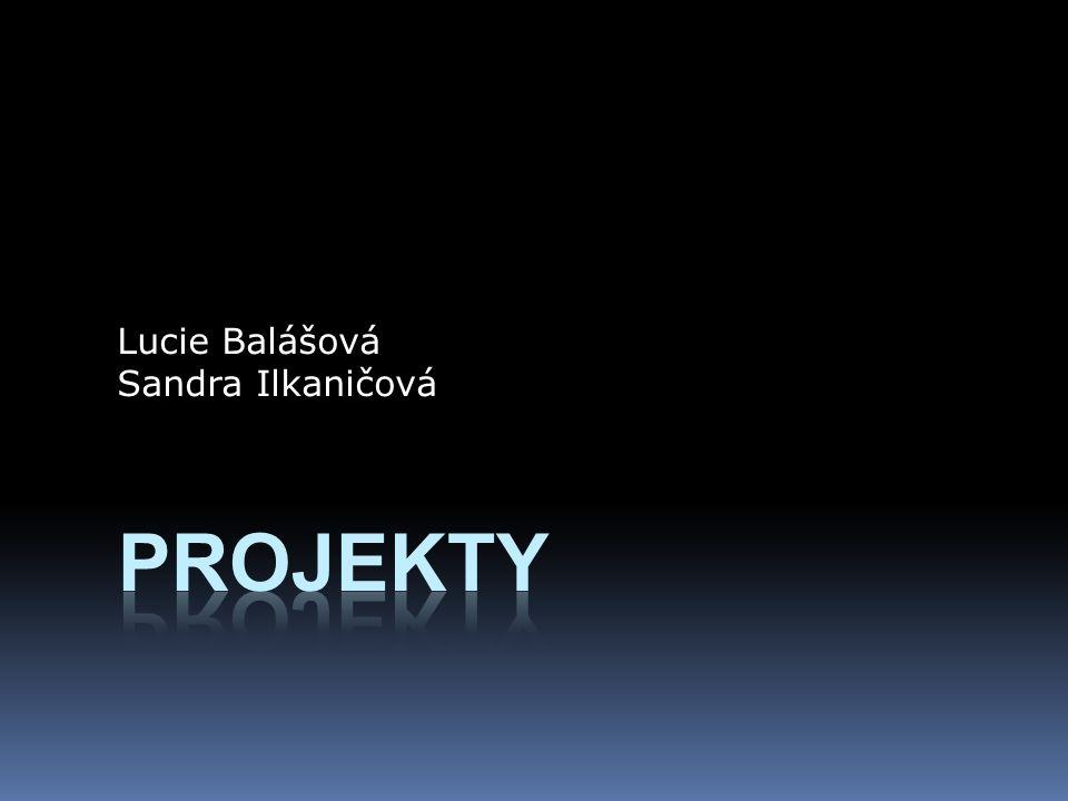 Lucie Balášová Sandra Ilkaničová