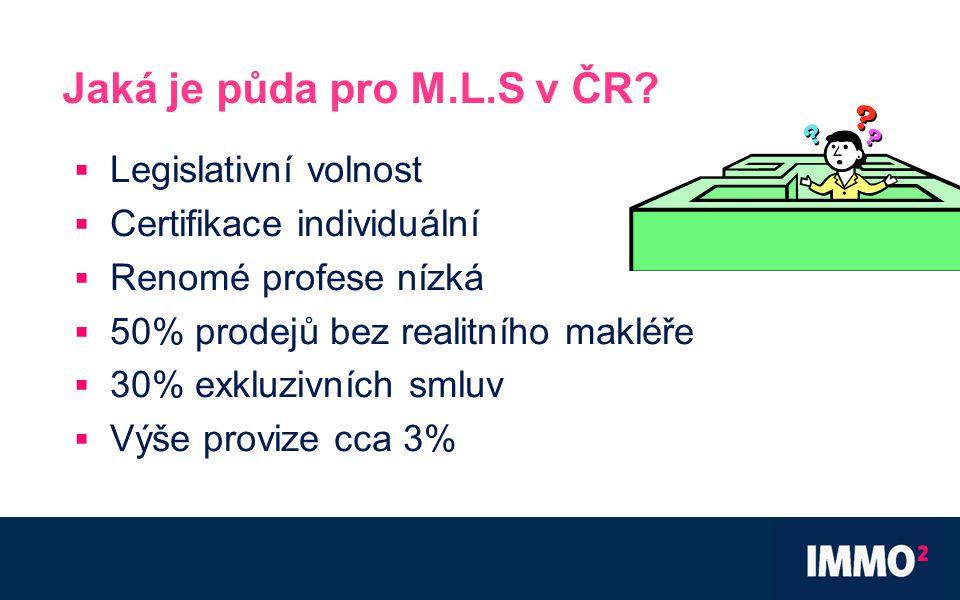 Jaká je půda pro M.L.S v ČR.