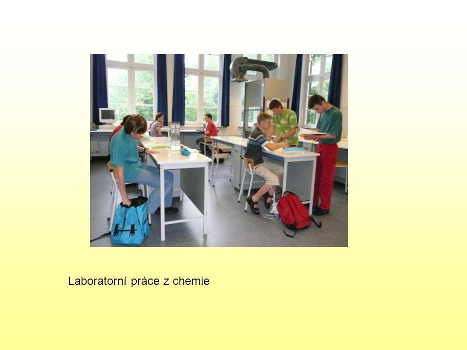 Laboratorní práce z chemie