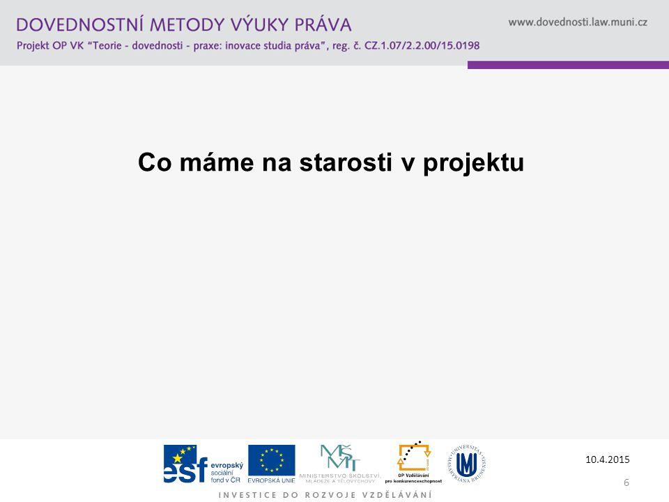 7 vdohnal@probonoaliance.cz www.probonoaliance.cz Děkuji za pozornost Tento studijní materiál byl vytvořen jako výstup z projektu č.
