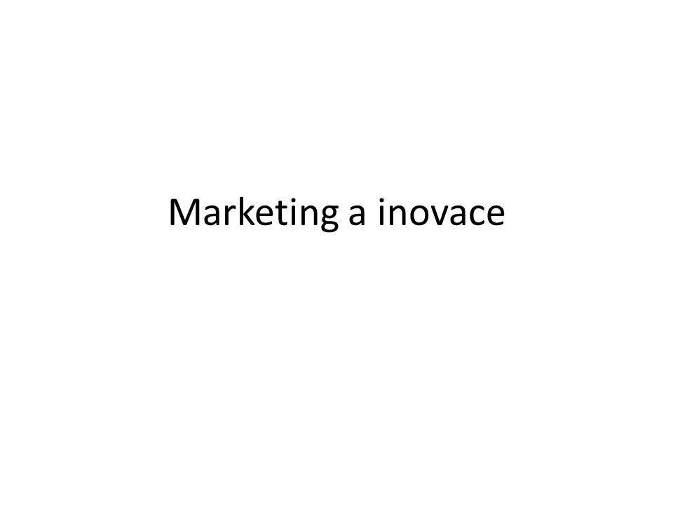 Marketing a inovace