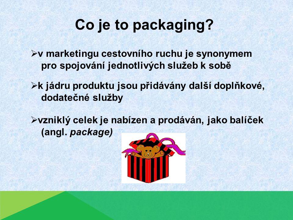 Proč se balíčky zabývat.