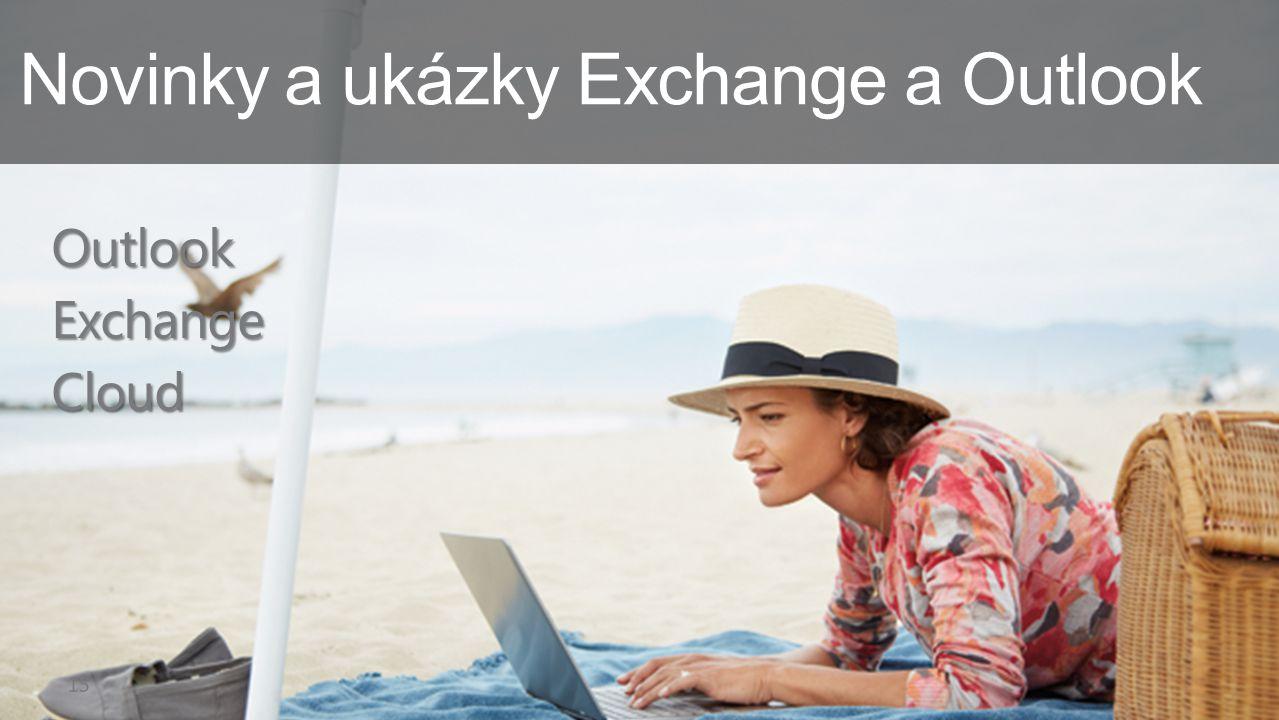 Novinky a ukázky Exchange a Outlook