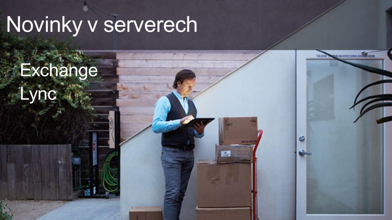 Novinky v serverech Exchange Lync