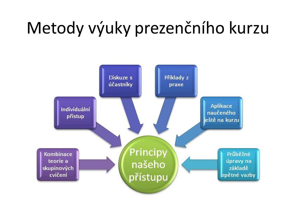 Metody výuky prezenčního kurzu