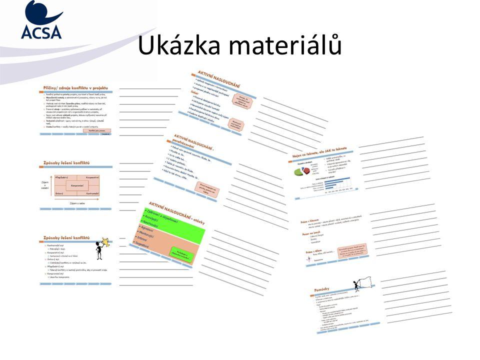 Ukázka materiálů