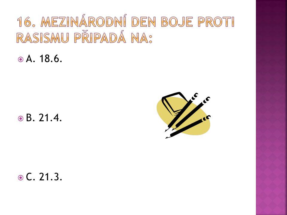  A. 18.6.  B. 21.4.  C. 21.3.