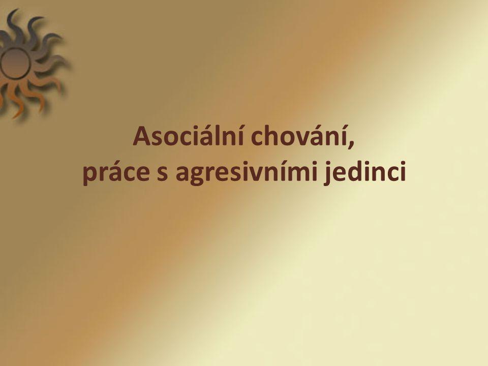 Klasifikace odchylného chování (ONDREJKOVIČ,P. A KOL. )