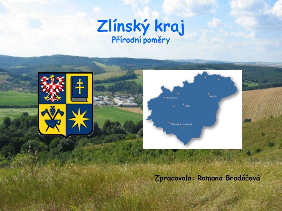 Rozloha 3964 km2 počet obcí je 304 počet měst : 28 ZK leží ve východní části Střední Moravy je regionem čtyř oblastí: Kroměřížska, Vsetínska, Zlínska, Uhersko-Hradišťska hraničí se Slovenskem a sousedí s brněnským, olomouckým a ostravským krajem tři etnografické a geografické oblasti: Valašsko, Slovácko, Haná
