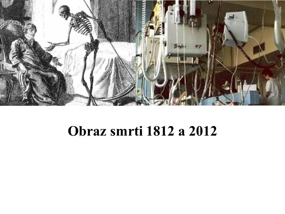 Obraz smrti 1812 a 2012